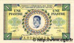 1 Piastre - 1 Kip INDOCHINE FRANÇAISE  1952 P.099s SPL