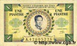 1 Piastre / 1 Dong INDOCHINE FRANÇAISE  1952 P.104 TTB