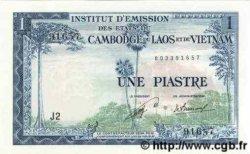 1 Piastre / 1 Kip INDOCHINE FRANÇAISE  1954 P.100 NEUF