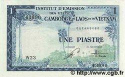1 Piastre - 1 Dong INDOCHINE FRANÇAISE  1954 P.105 SPL