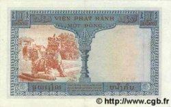 1 Piastre / 1 Dong INDOCHINE FRANÇAISE  1954 P.105 SPL