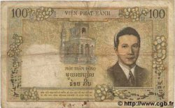100 Piastres / 100 Dong INDOCHINE FRANÇAISE  1954 P.108 B