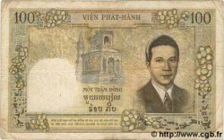 100 Piastres / 100 Dong INDOCHINE FRANÇAISE  1954 P.108 TB