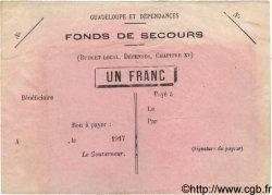 1 Franc GUADELOUPE  1917 P... TTB