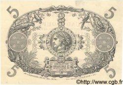 5 Francs GUADELOUPE  1874 P.07 pr.NEUF