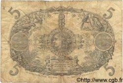 5 Francs GUADELOUPE  1922 P.07 B+