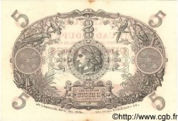 5 Francs GUADELOUPE  1944 P.07 SUP+