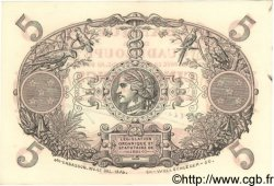 5 Francs GUADELOUPE  1944 P.07 SPL