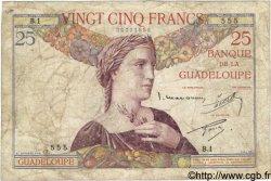 25 Francs GUADELOUPE  1934 P.14 B