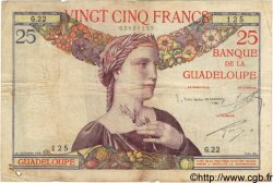 25 Francs GUADELOUPE  1934 P.14 TB+