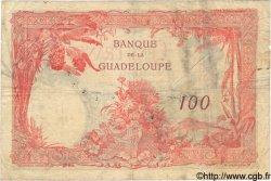 100 Francs GUADELOUPE  1934 P.16 TB