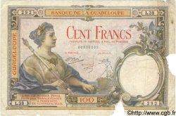 100 Francs GUADELOUPE  1944 P.16 AB