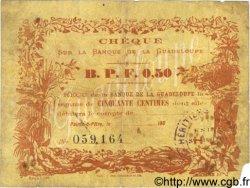 0,50 Franc GUADELOUPE  1900 P.20B B+