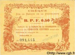 0,50 Franc GUADELOUPE  1900 P.20B pr.NEUF