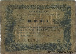 1 Franc GUADELOUPE  1890 P.20C AB