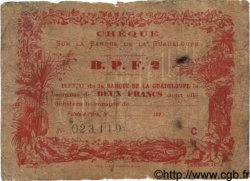 2 Francs GUADELOUPE  1890 P.20D AB