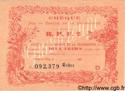 2 Francs GUADELOUPE  1900 P.20D