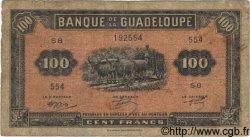 100 Francs GUADELOUPE  1942 P.23 B