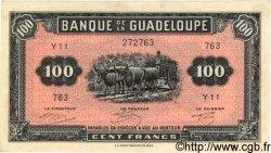 100 Francs GUADELOUPE  1942 P.23 pr.SUP