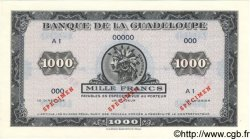 1000 Francs GUADELOUPE  1943 P.26As