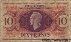 10 Francs GUADELOUPE  1944 P.27a pr.B