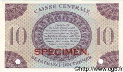 10 Francs GUADELOUPE  1944 P.27s SPL