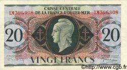 20 Francs GUADELOUPE  1944 P.28a TTB à SUP
