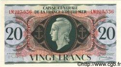 20 Francs GUADELOUPE  1944 P.28a SPL