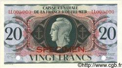 20 Francs GUADELOUPE  1944 P.28s SPL