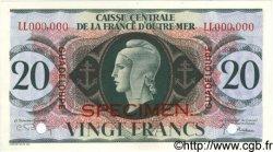 20 Francs GUADELOUPE  1944 P.28s NEUF