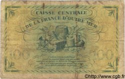 100 Francs GUADELOUPE  1944 P.29a B+