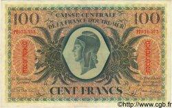 100 Francs GUADELOUPE  1944 P.29a TTB