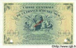 100 Francs GUADELOUPE  1944 P.29s SPL