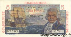 5 Francs GUADELOUPE  1946 P.31 SPL+