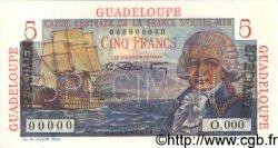 5 Francs Bougainville GUADELOUPE  1946 P.31s NEUF