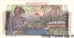 5 Francs GUADELOUPE  1946 P.31s NEUF