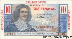 10 Francs Colbert GUADELOUPE  1946 P.32s SPL