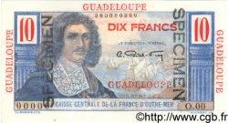 10 Francs GUADELOUPE  1946 P.32s pr.NEUF