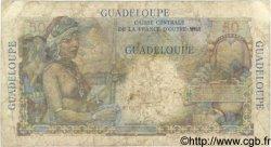 50 Francs GUADELOUPE  1946 P.34 B