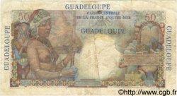 50 Francs GUADELOUPE  1946 P.34 TB à TTB