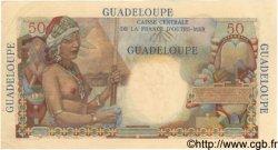 50 Francs GUADELOUPE  1946 P.34 TTB