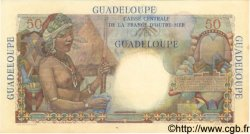 50 Francs GUADELOUPE  1946 P.34 SUP
