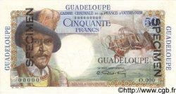 50 Francs GUADELOUPE  1946 P.34s SPL