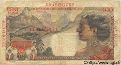 100 Francs GUADELOUPE  1946 P.35 TB