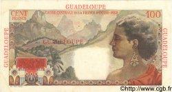 100 Francs La Bourdonnais GUADELOUPE  1946 P.35 SUP