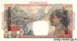 100 Francs GUADELOUPE  1946 P.35s pr.NEUF