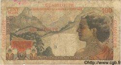 100 Francs GUADELOUPE  1946 P.35 B