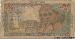 500 Francs GUADELOUPE  1946 P.36 AB