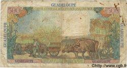500 Francs GUADELOUPE  1946 P.36 B+