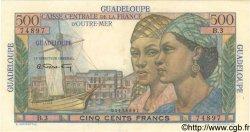 500 Francs GUADELOUPE  1946 P.36 pr.SPL
